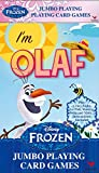 Disney Frozen I'm Olaf Jumbo Deck of Custom Playing Cards