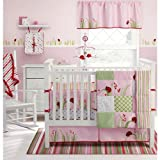 Migi Lady Bug 4 Piece Crib Bedding Set by Bananafish