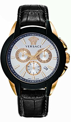 Versace-Mens-VQN030015-Character-Analog-Display-Quartz-Black-Watch