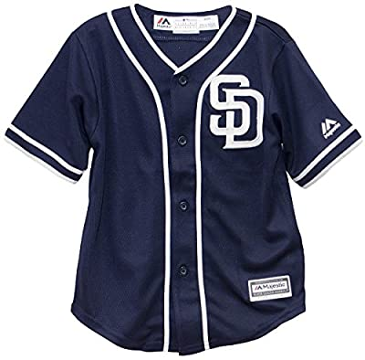 San Diego Padres Alternate Navy Cool Base Infant MLB Jersey