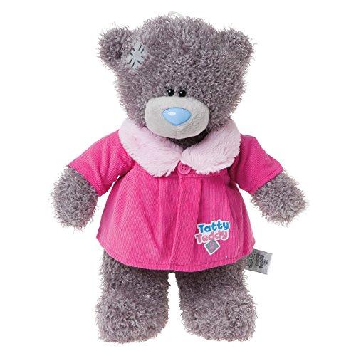 Dress Up Bears - Cappotto Con Collo Di Pelliccia Per Orsetto Tatty Teddy Me To You, Colore Rosa