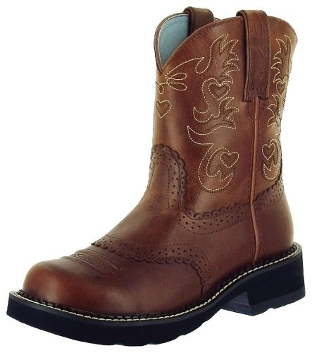 Ariat 0860 Women's Fatbaby Saddle, Russet Rebel
