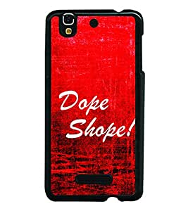 Dope Shope 2D Hard Polycarbonate Designer Back Case Cover for YU Yureka :: YU Yureka AO5510