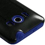 MYBAT AHTCEVO4GHPCFUOC003NP Fusion Premium Durable Protective Case for Evo 4G - 1 Pack - Retail Packaging - Blue