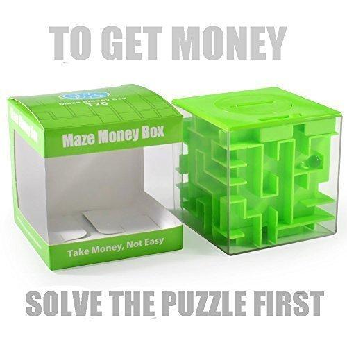 SainSmart-Jr-Amaze-CB-22-Cube-Money-Maze-Bank-Unique-Perfect-Puzzle-for-Kids