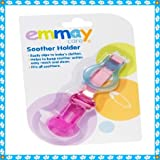 EMMAY CARE SOOTHER HOLDER IN PINK AND BLUE (Pink)