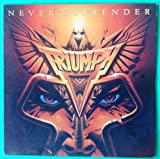 TRIUMPH Never Surrender LP Vinyl VG+ Cover VG++ 1983 Lyrics Sleeve AFL14382