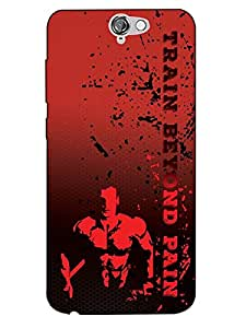 HTC One A9 Mobile Case Back Cover for Bodybuilders and Boys BDR(7)HOA9