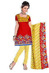 Anshul Textile Printed Unstitched Dress Material