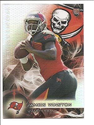 Jameis Winston Tampa Bay Buccaneers 2015 Topps Platinum Rookie Football Card #101