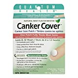 Quantum Health Canker Cover Oral Canker Sore Patch, Mint Flavor, 150mg,  6-Count Box