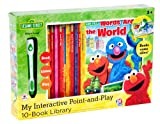 img - for Sesame Street Point-and-Play and 10-Book Library book / textbook / text book
