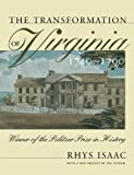 Transformation of Virginia, 1740-1790
