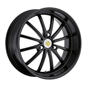Genius Wheel Darwin Matte Black Wheel (17×7.5″/3x112mm)
