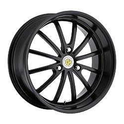 Genius Wheel Darwin Matte Black Wheel (17×7.5″/3x112mm)