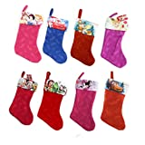 7 and 18 Disney Christmas Stocking (Various Themes)