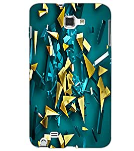 SAMSUNG GALAXY NOTE 2 PATTERN Back Cover by PRINTSWAG