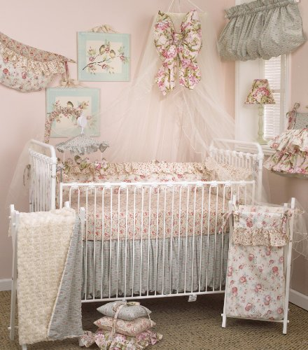 Cotton Tale Designs Tea Party Bedding Set, 8 Piece