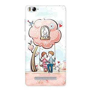 Gorgeous Swing Love Multicolor Back Case Cover for Xiaomi Mi4i