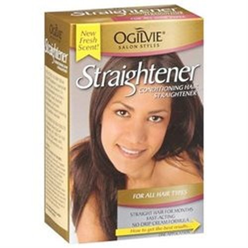 Ogilvie Conditioning Hair Straightener For All Hair Types, New Fresh Scent, (Pack of 6) (Hair Conditioning Straightener compare prices)