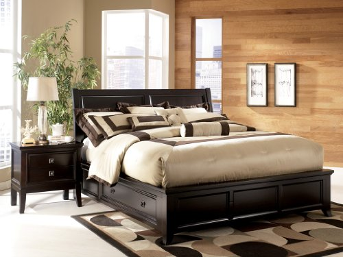 Popular Ashley Martini Suite Cal King Platform Storage Bed o Deals