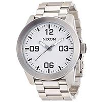 [ニクソン]NIXON CORPORAL SS: WHITE NA346100-00 メンズ 【正規輸入品】