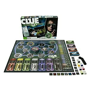 CLUE Secrets Spies!