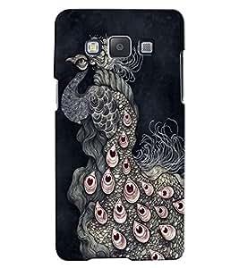 Citydreamz Peacock\Jungle Hard Polycarbonate Designer Back Case Cover For Samsung Galaxy A5