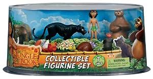 Figurine Value Set - Mowgli, Baloo, Bagheera, Boo, Ponya, Hathi, Masha
