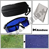 Andux Golf Ball Finder Prefessional Lenses Glasses with Mould Case Eyeglass Cords Gl-2