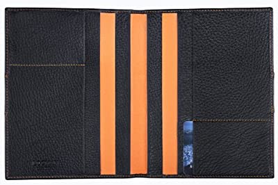 Locman LOCMAN: NERO DOCUMENT HOLDER