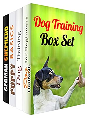 Dog Training Box Set (4 in 1): Dog Training Essentials and Proven Techniques for Beginners (Dog Training & Animal Care)