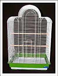 Bijou Bird Cage Black Budgie Canary Lovebirds Finches