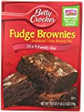 Betty Crocker Fudge Brownies, 13 x 9 Family Size, 18.3 oz