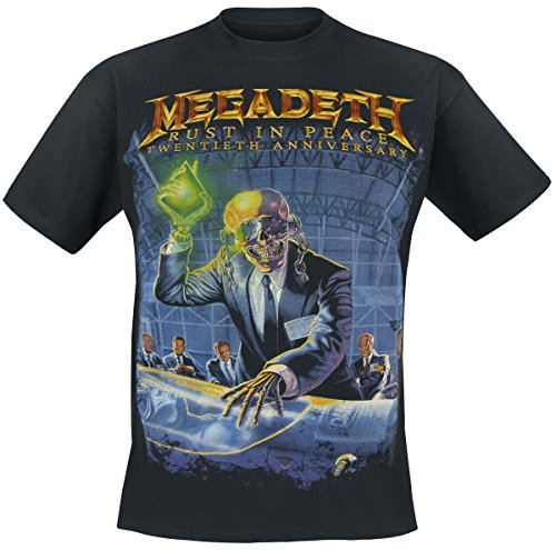 Megadeth Rust In Peace (Anniversary) T-Shirt nero XL