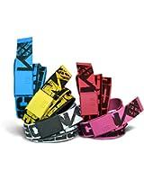 Freegun - ceinture enfant - textile réglable reversible