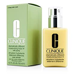 Clinique Dramatically DiffeGenerict Moisturizing Lotion+ (Very Dry to Dry Combination; With Pump) - 125ml/4.2oz