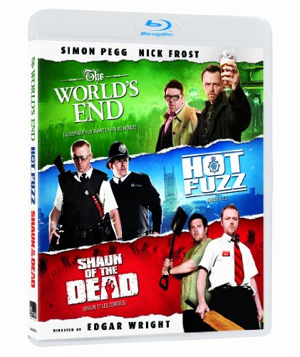 Shaun Of The Dead / Hot Fuzz / The World's End (Blood And Ice Cream Trilogy) [Blu-ray]