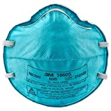 3M 1860S Surgical Mask, Small, Teal (Pack of 20)