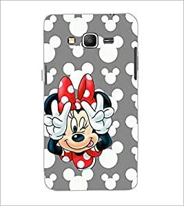 PrintDhaba Minnie Mouse D-2327 Back Case Cover for SAMSUNG GALAXY GRAND PRIME (Multi-Coloured)