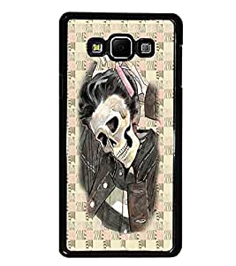 PrintDhaba Funny Image D-3746 Back Case Cover for SAMSUNG GALAXY A8 (Multi-Coloured)