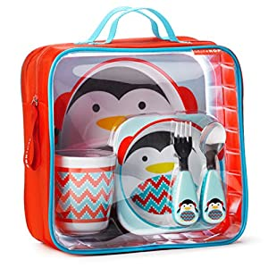 Skip Hop Zoo Winter Feeding Set, Penguin