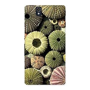 Sea Umbrella Shell Back Case Cover for Sony Xperia Z