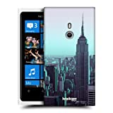 Head Case Empire State Building Manhattan New York Back Case For Nokia Lumia 800