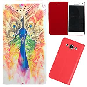 DooDa - For Samsung Galaxy S5 PU Leather Designer Fashionable Fancy Flip Case Cover Pouch With Smooth Inner Velvet