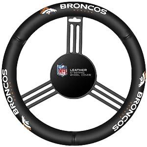 Fremont Die Denver Broncos Steering Wheel Cover by Fremont Die
