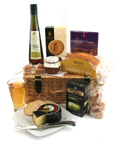 Essentially English Gift Hamper - Food Hampers and Gift Baskets