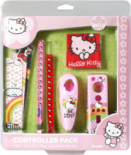Hello Kitty Controller Pack (Wii)