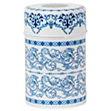 Blue Filligree Canister