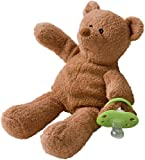 Binkibear The Original Pacifier, Classic Brown